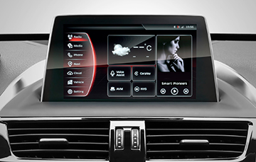 Central touchscreen BX5